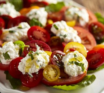 Heirloom Tomato and Ricotta Salad