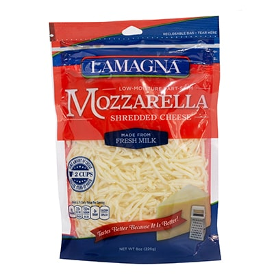 8 oz. Shredded Mozzarella