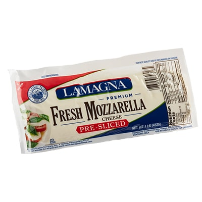 16 oz. Presliced Fresh Mozzarella